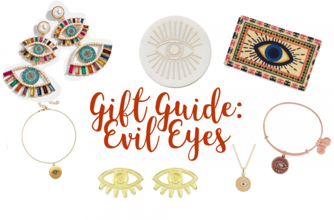 gifts; gift guide; evil eyes